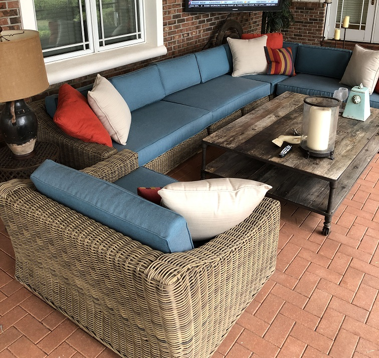 Provence Outdoor Patio Cushions